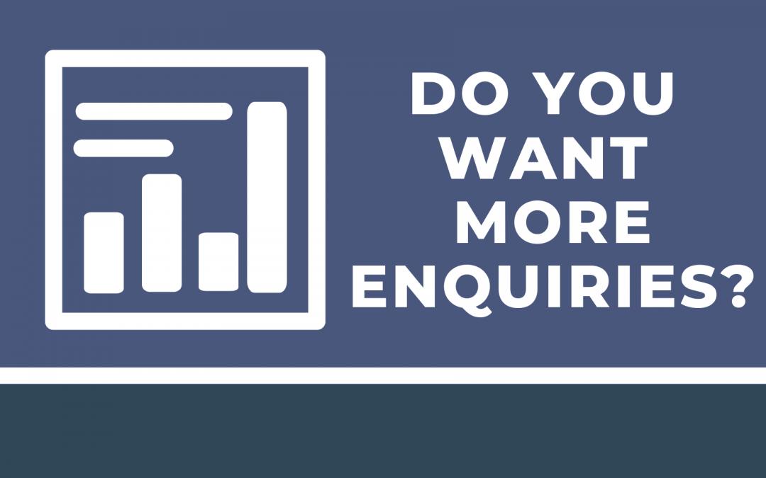 Optimising Your Website for More Enquiries
