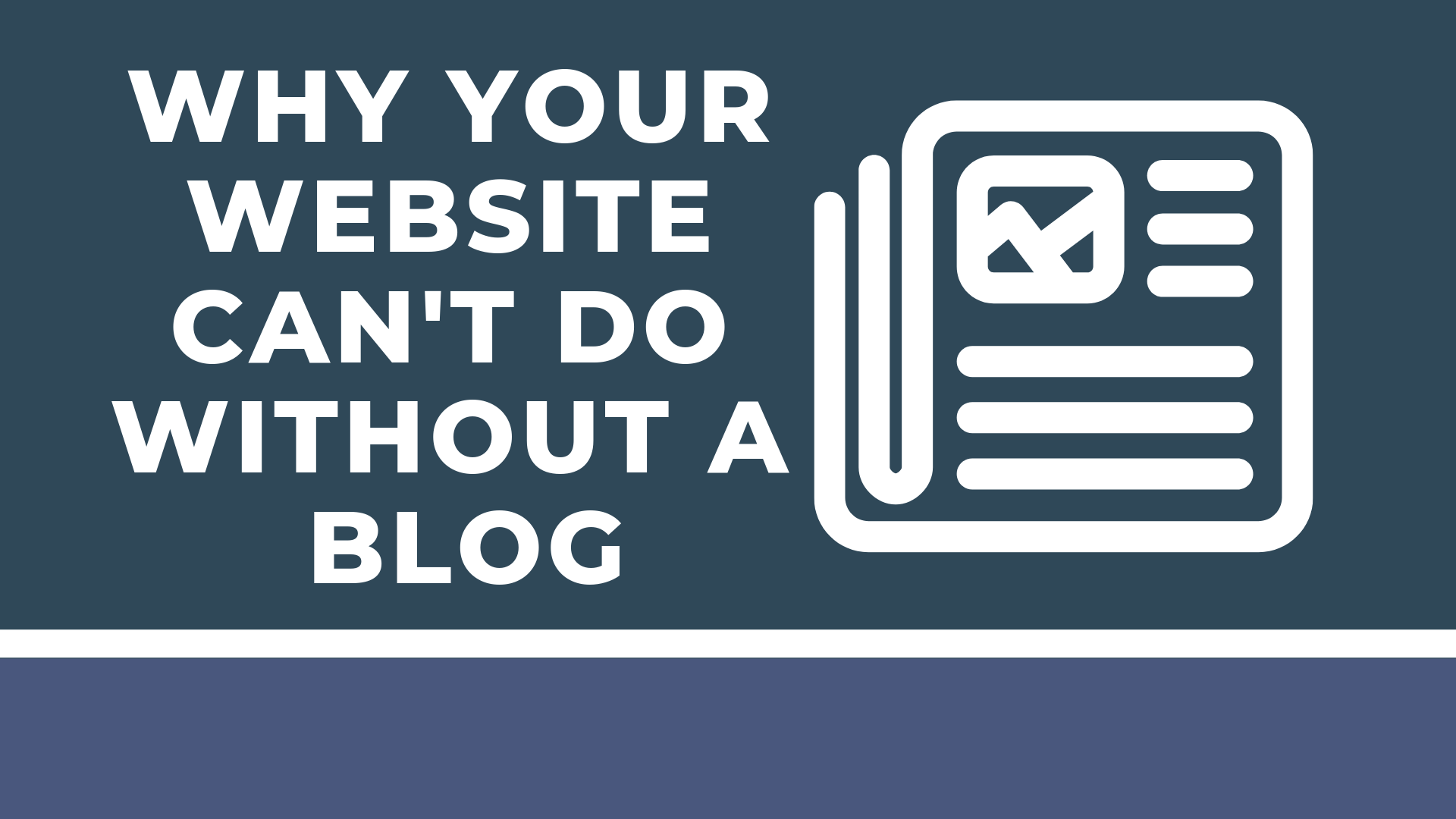 benefits of having a blog